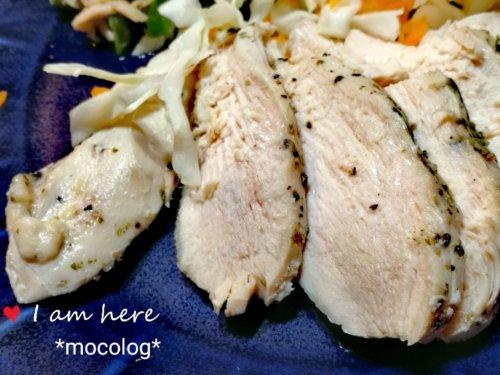 鶏ハムのアップ画像