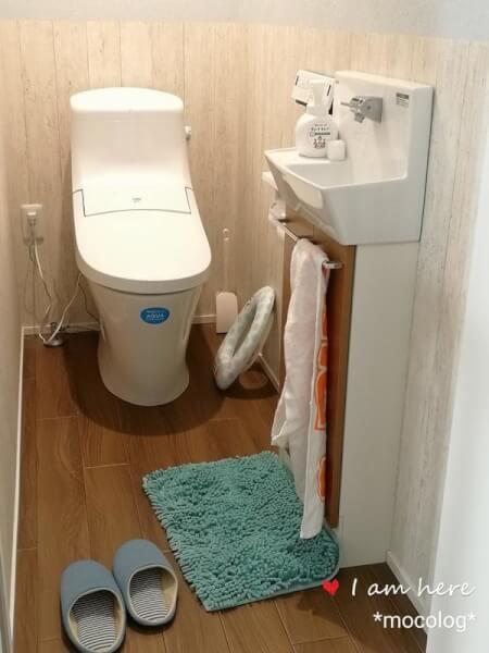 2階のトイレ全体図