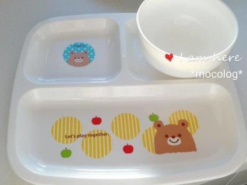 ダイソー クマの食器