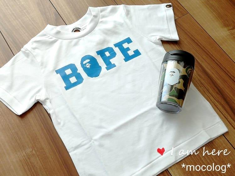 A BATHING APE2019福袋Tシャツとタンブラー