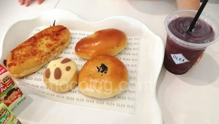 パンとスムージー